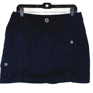 St. John's Bay 12P Skort Shorts Under Skirt Black